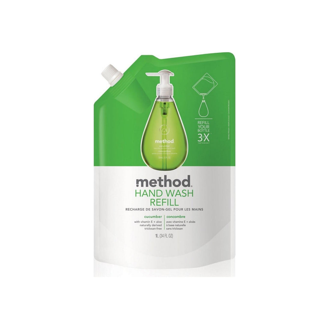 Method Hand Wash Refill, Cucumber 34 oz