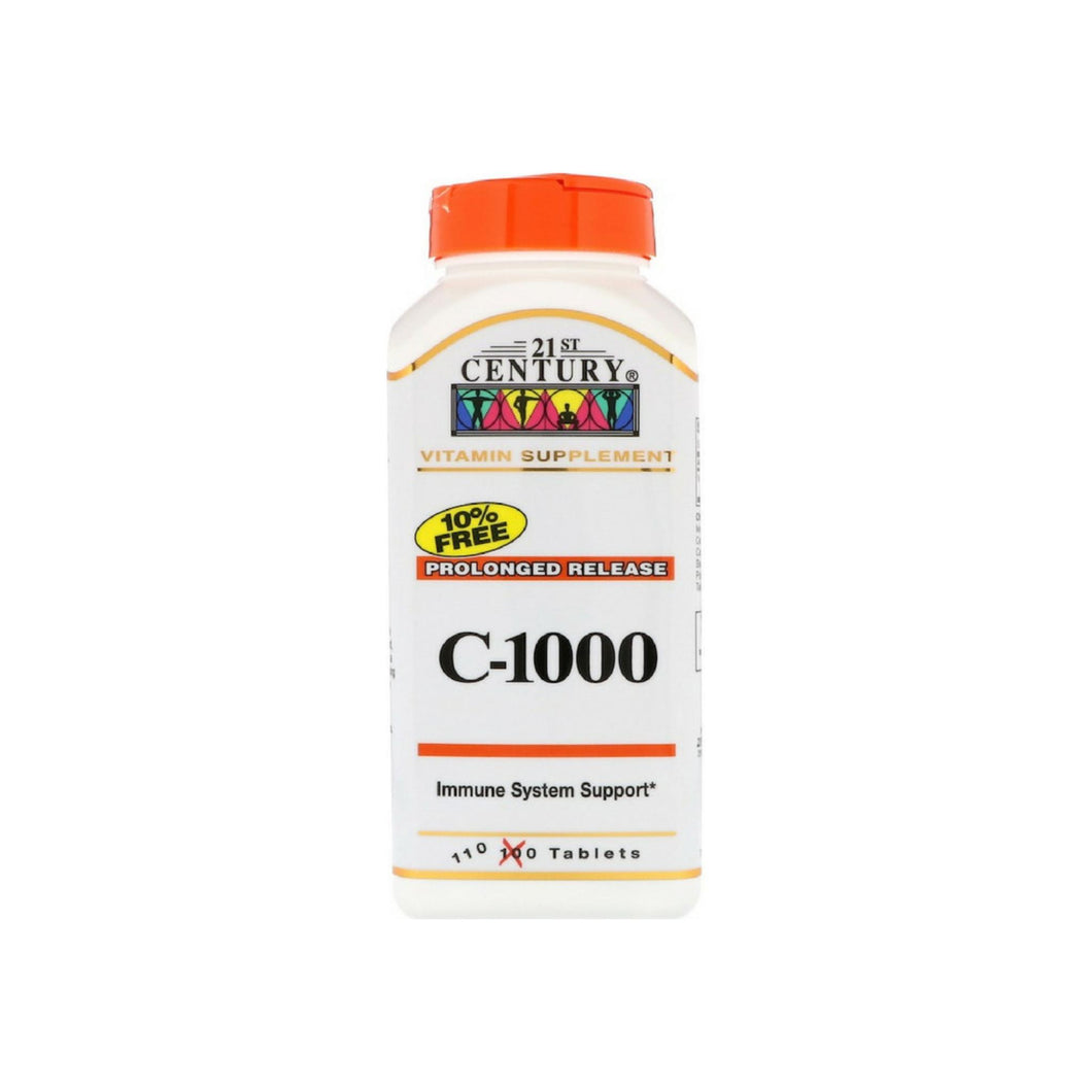 21st Century C-1000 Prolonged Release Vitamin Supplement, 110 Tablets