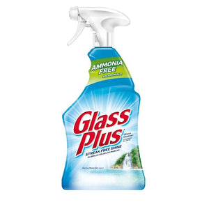 Glass Plus Glass Cleaner, Multi-Surface Glass Cleaner 32 oz