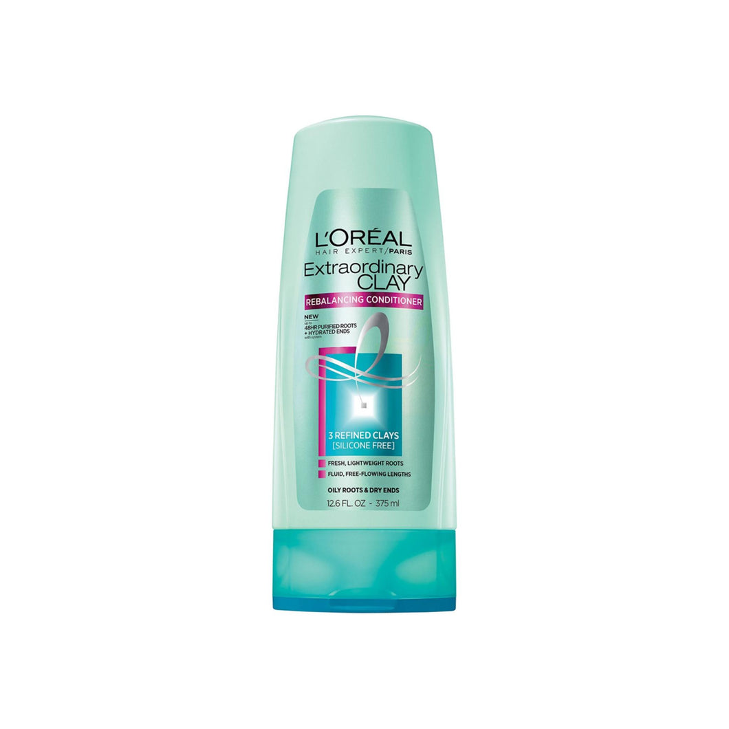 L'Oreal Paris Hair Expert Extraordinary Clay Rebalancing Conditioner 12.6 oz