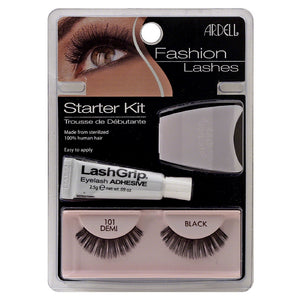 Ardell Fashion Lashes Starter Kit, Black [101] 1 ea