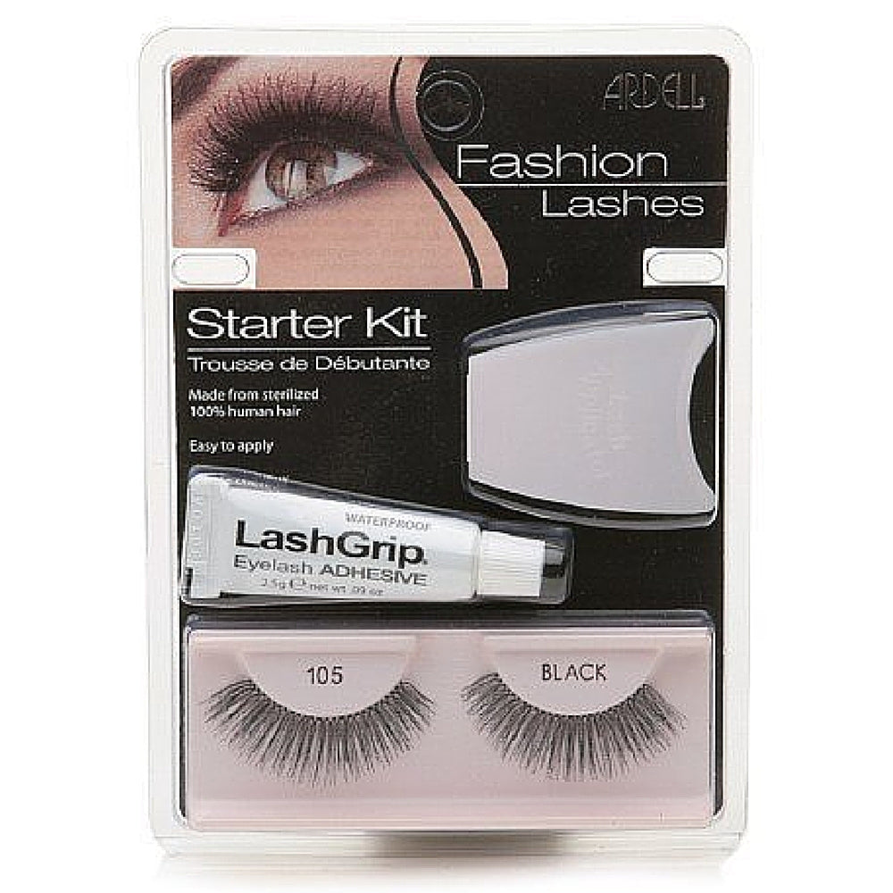 Ardell Fashion Lashes Starter Kit, Black [105] 1 ea