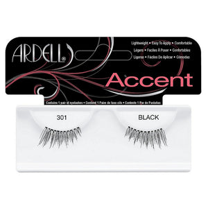 Ardell Accent Lashes, Black [301] 1 Pair