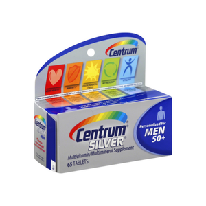 Centrum Silver Men 50+ Multivitamin Tablets 65 ea
