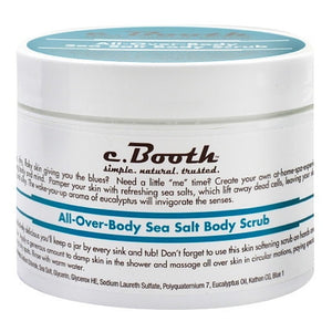 c. Booth All-Over-Body Sea Salt Body Scrub 8 oz