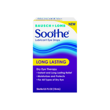 Load image into Gallery viewer, Bausch + Lomb Soothe Long Lasting Lubricant Eye Drops 0.5 oz [310119544013]
