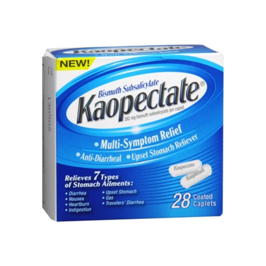 Kaopectate Multi-Symptom Relief Coated Caplets 28 ea