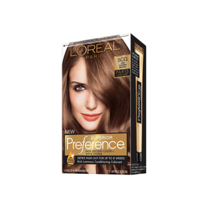 L'Oreal Paris Superior Preference Permanent Color, 5CG Iced Golden Brown 1 ea