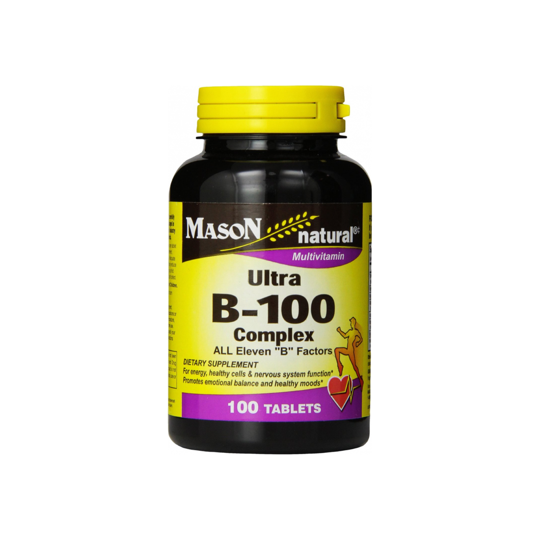 Mason Natural Ultra B-100 Complex 100 ea