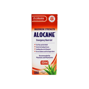 Alocane Maximum Strength Emergency Room Burn Gel 2.5 oz