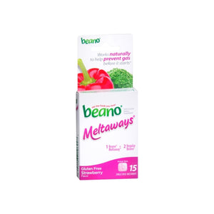 Beano Meltaways Strawberry 15 ea