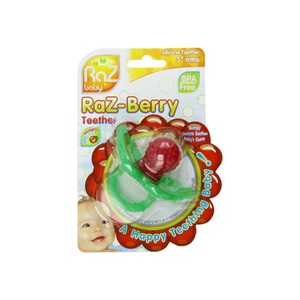 RaZbaby Raz-Berry Silicone Teether for 3+ Months 1 ea