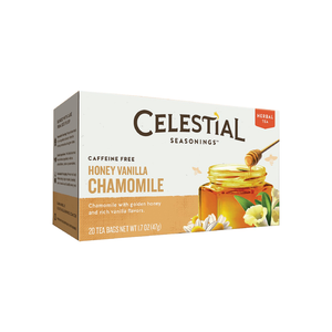 Celestial Seasonings Herbal Tea, Honey Vanilla Chamomile 20 ea