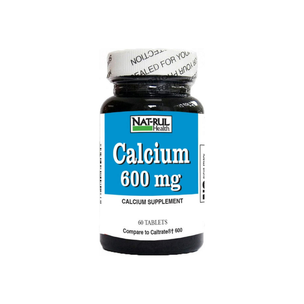 Nat-Rul Calcium 600 mg Tablets 60 ea
