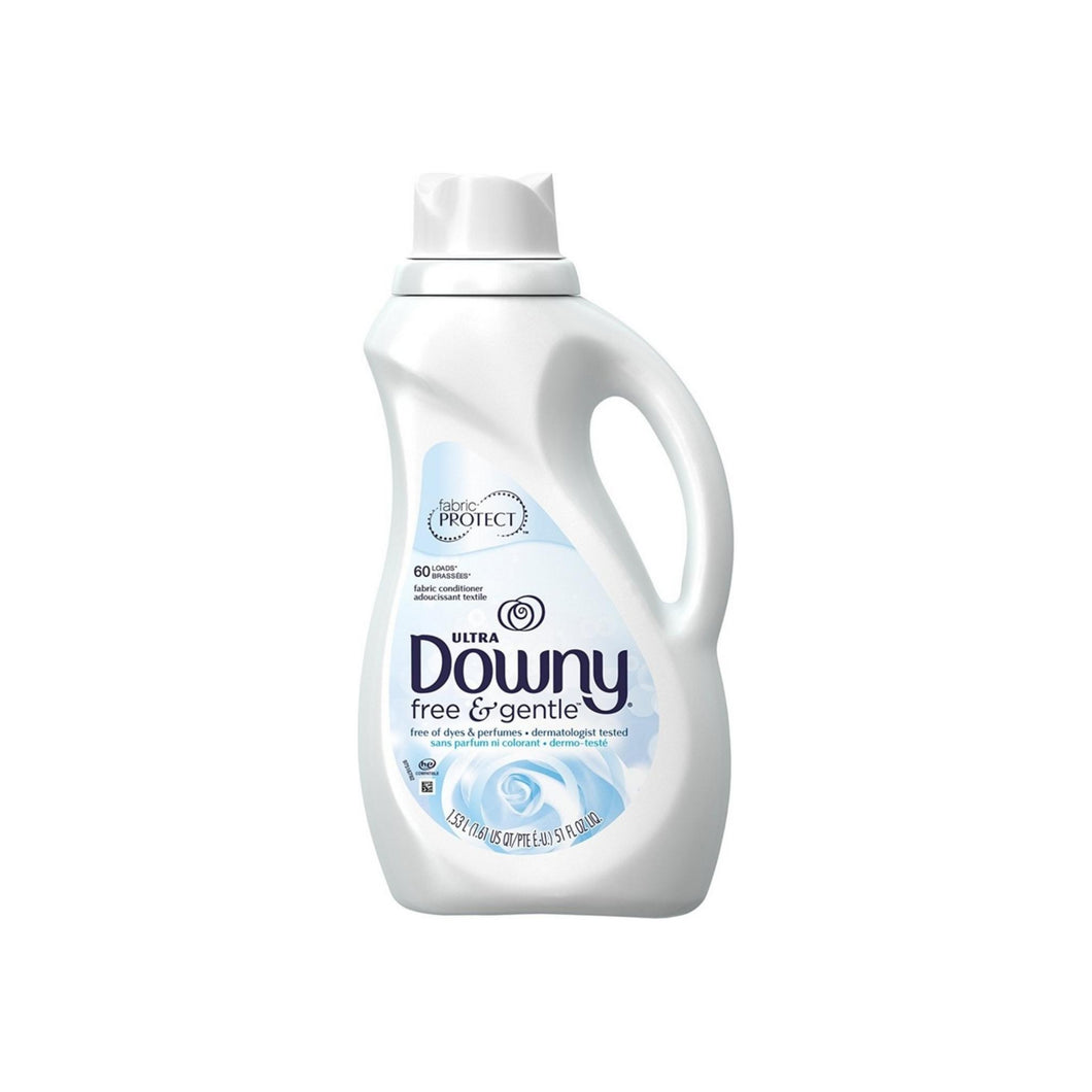 Downy Liquid Fabric Conditioner, Free & Gentle 51 oz