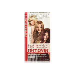 L'Oreal Colorist Secrets Haircolor Remover 1 Each