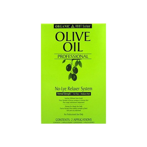 Organic Root Stimulator Organic Root Stimulator Olive Oil Professional No-Lye Relaxer System, Normal Strength