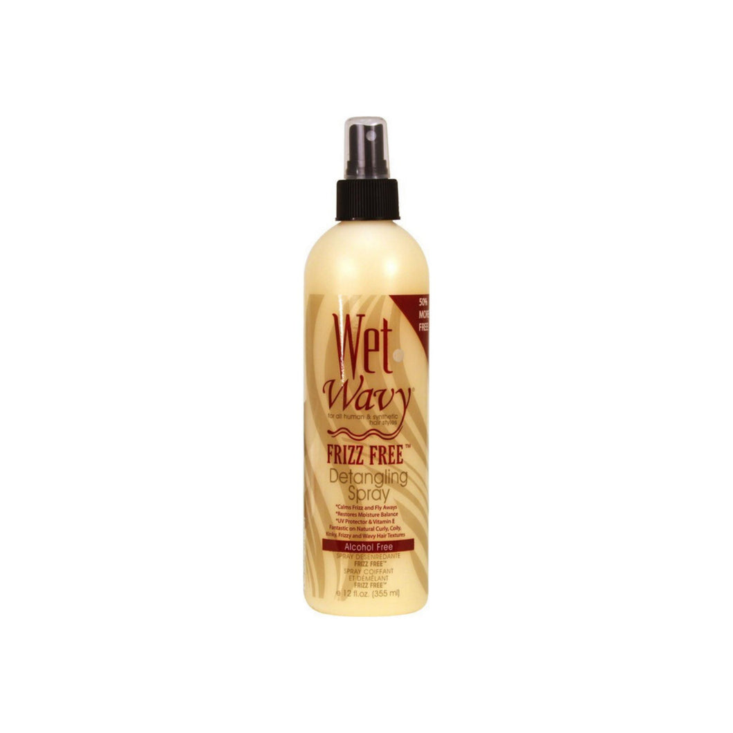 Wet n Wavy Frizz Free Detangling Spray 12 oz