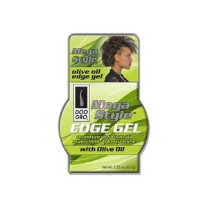 DOO GRO Mega Style Edge Gel With Olive Oil, 2.25 oz