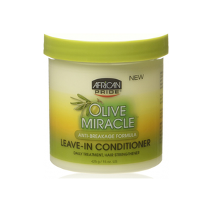 African Pride Olive Miracle Leave-in Conditioner 15 oz