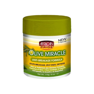 African Pride Olive Miracle Anti-breakage Formula, 6 oz