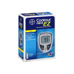 Bayer Contour Next EZ Blood Glucose Monitoring System 1 Each