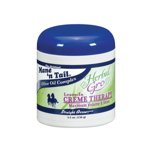 Mane'n Tail Leave-In Herbal-Gro Crème Therapy, 5.5 oz
