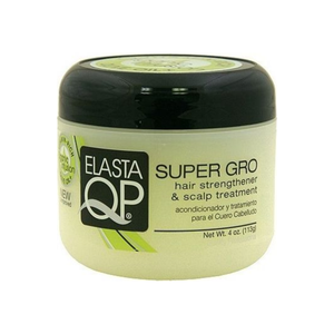 Elasta QP Super Gro Hair Strengthener & Scalp Treatment, 4 oz