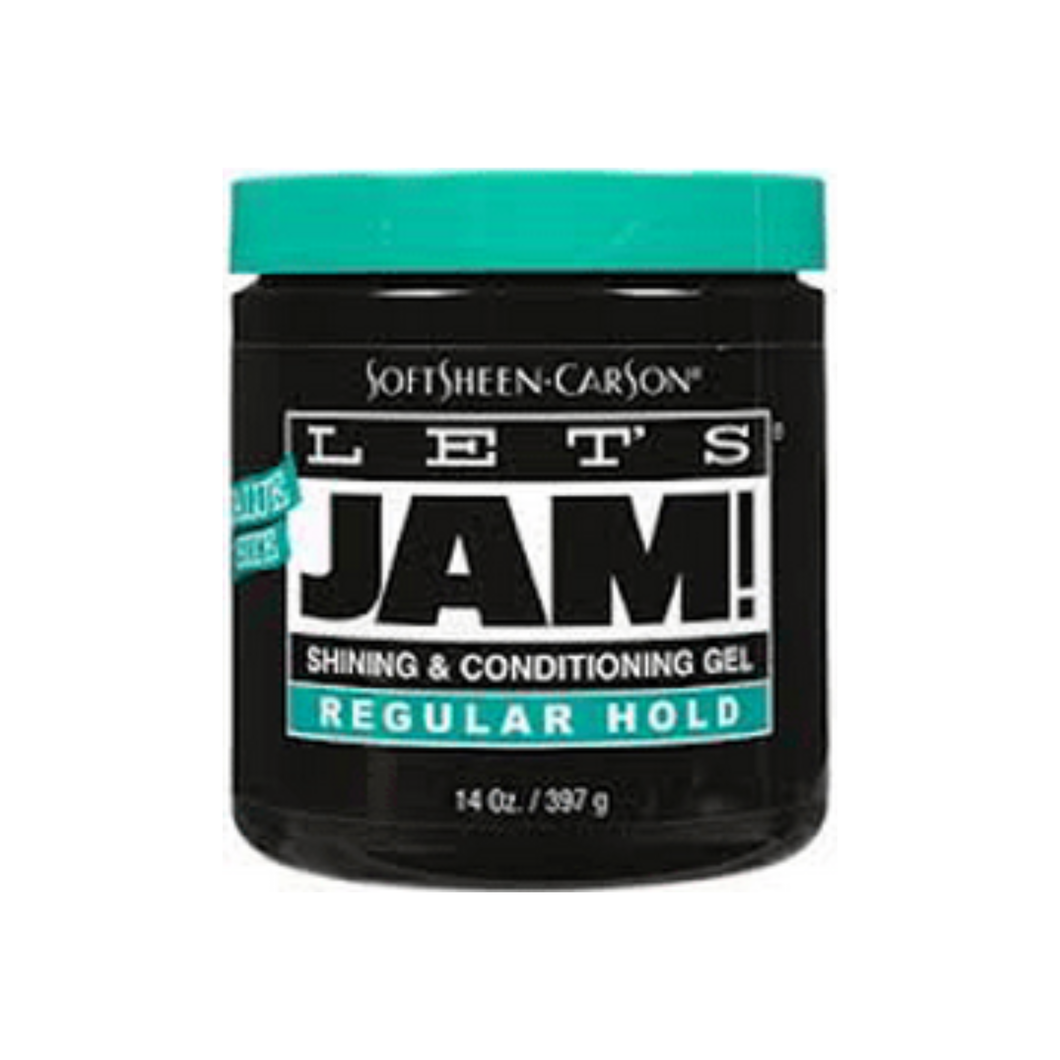Let's Jam! Shining & Conditioning Gel Regular Hold, 14 oz