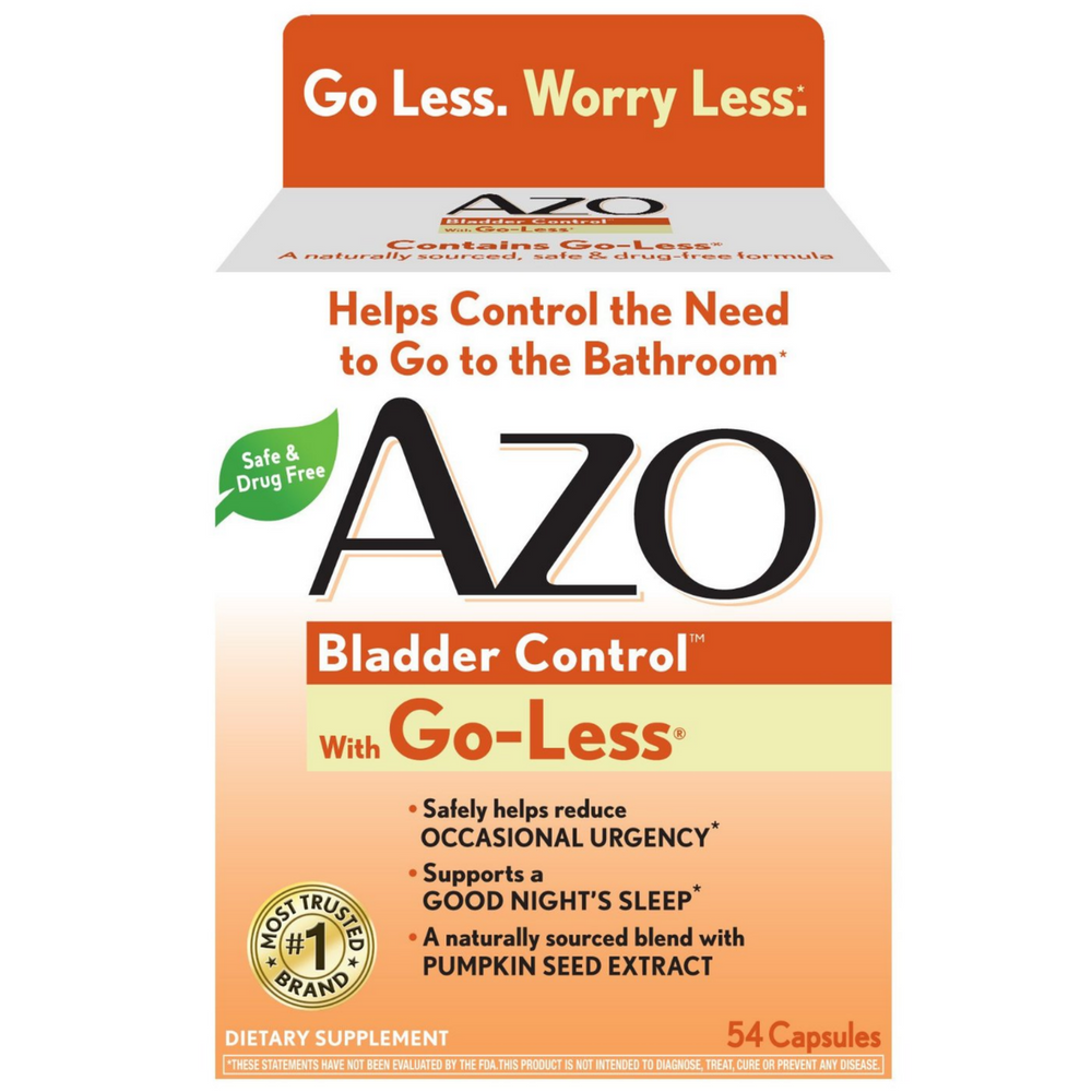 AZO Bladder Control with Go-Less Capsules 54 ea