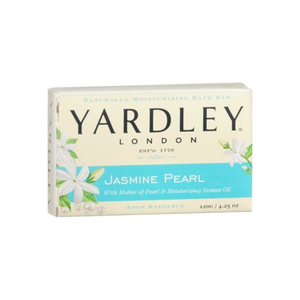 Yardley London Jasmine Pearl Bar Soap, 4.25 oz