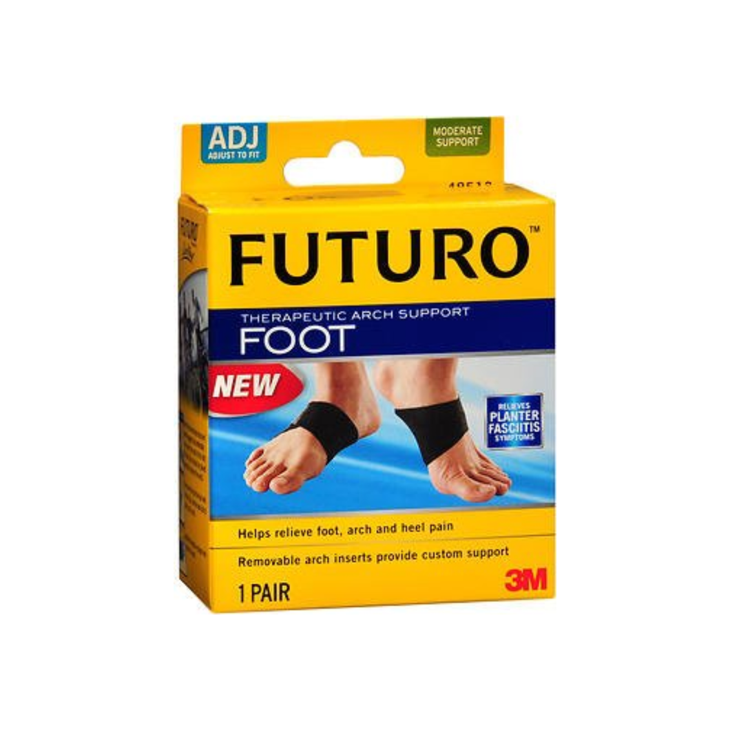 Nexcare Futuro Therapeutic Arch Support Moderate, 1 pair