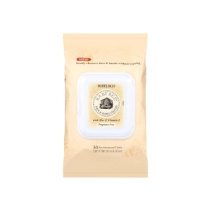 Burt's Bees Face & Hand Cloths, Fragrance Free 30 ea