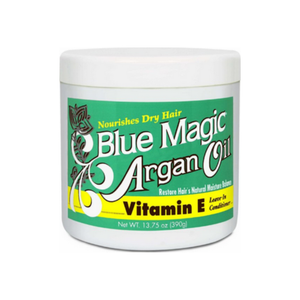 Blue Magic Argan Oil & Vitamin-E Leave-in Conditioner 13.75 oz