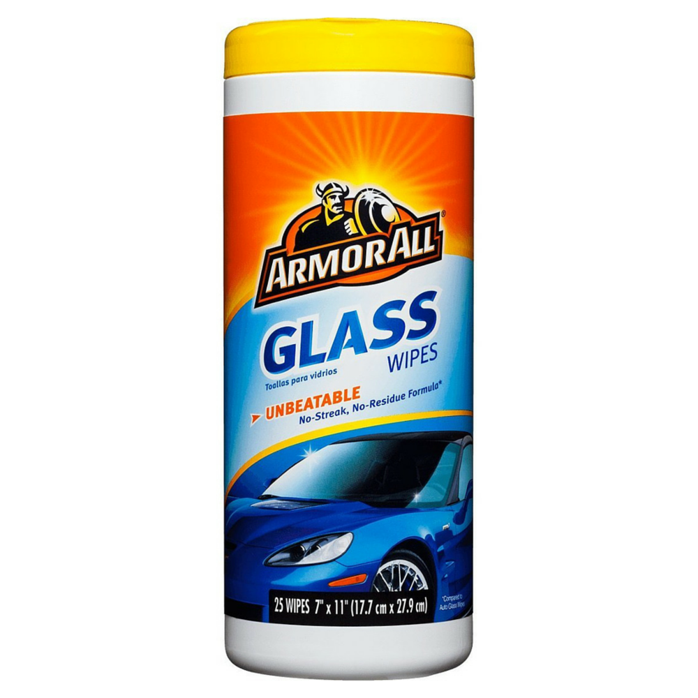 Armor All Glass Wipes 25 ea