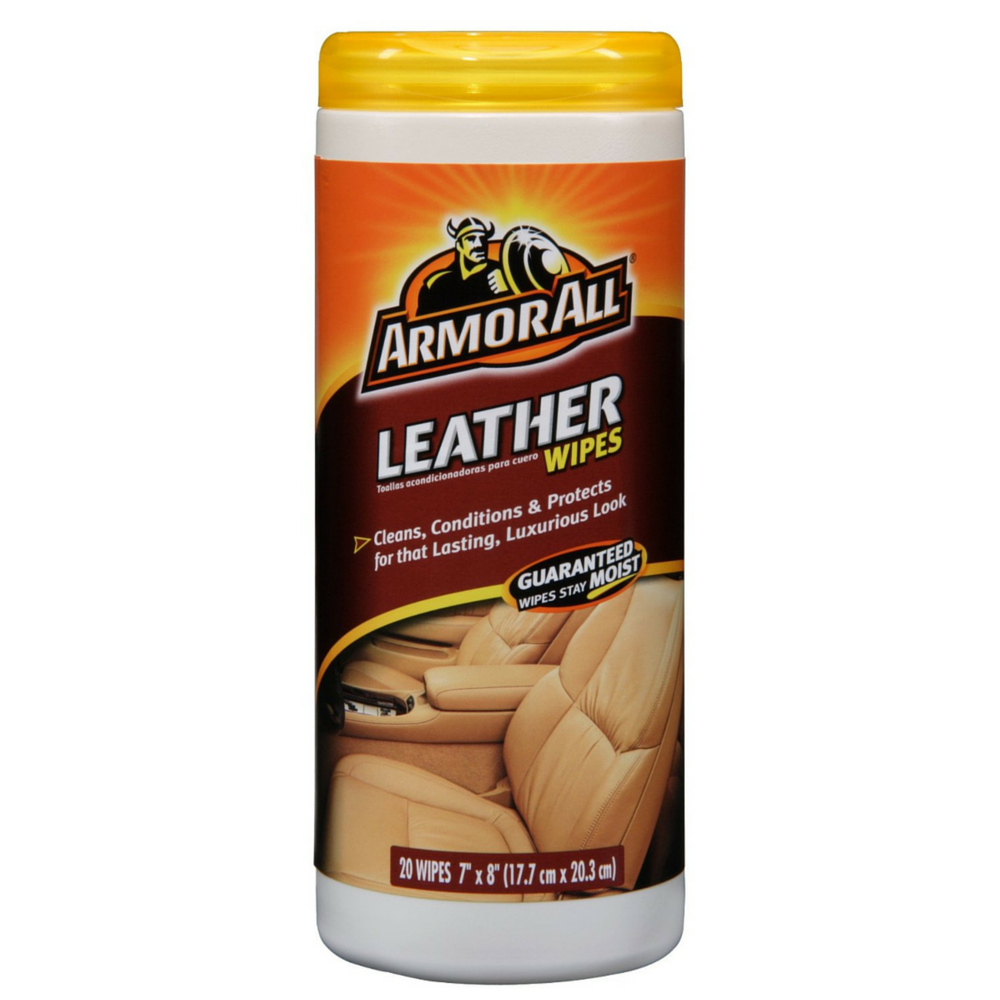 Armor All Leather Wipes 20 ea