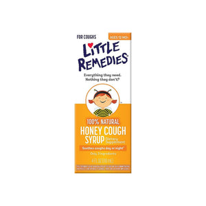 Little Remedies Honey Cough Syrup 4 oz