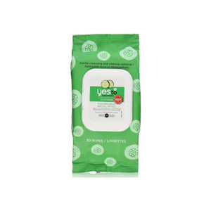 Yes to Cucumbers Soothing Hypoallergenic Facial Wipes 30 ea