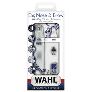 Wahl Dual Head Ear, Nose & Brow Personal Trimmer 1 ea
