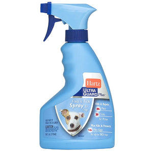 Hartz UltraGuard Plus Flea & Tick Spray for Dogs 16 oz