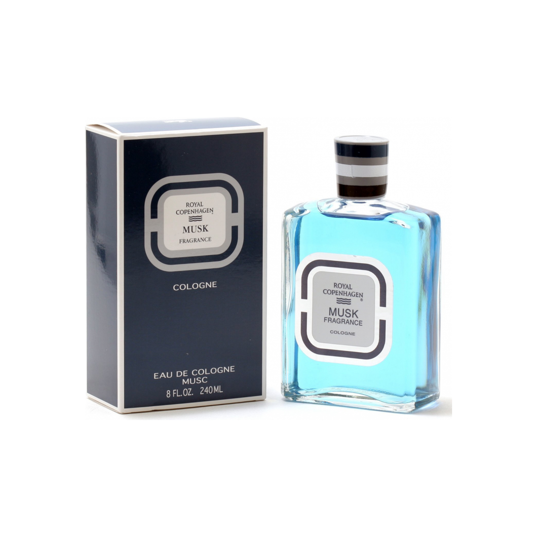 Musk By Royal Copenhagen Cologne for Men 8 oz