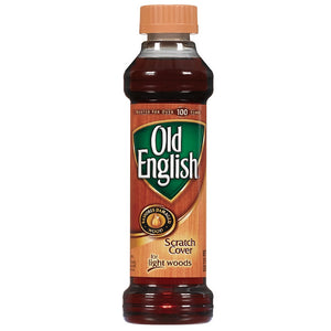Old English Scratch Cover For Light Woods, Wood Polish 8 oz
