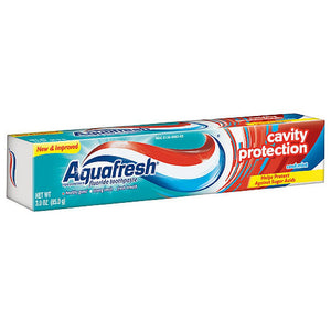 Aquafresh Cavity Protection Fluoride Toothpaste, Cool Mint 3 oz