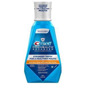 Crest Pro-Health Advanced Mouthwash with Extra Tartar Protection, Refreshing Mint 16.90 oz