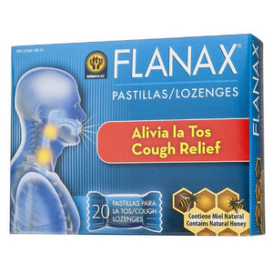 Flanax Cough Relief Throat Lozenges 20 ea