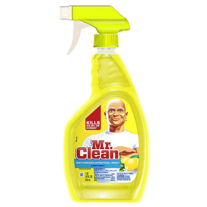 Mr. Clean Multi-Surface Antibacterial Spray Cleaner, Lemon Scent 32 oz