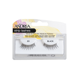 Andrea Eyelash Strip Lashes Black [53] 1 ea
