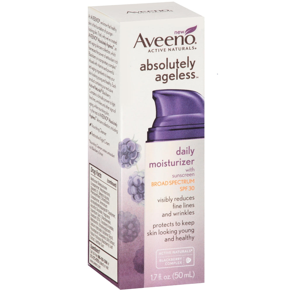 AVEENO Active Naturals Absolutely Ageless Daily Moisturizer, Blackberry 1.7 oz