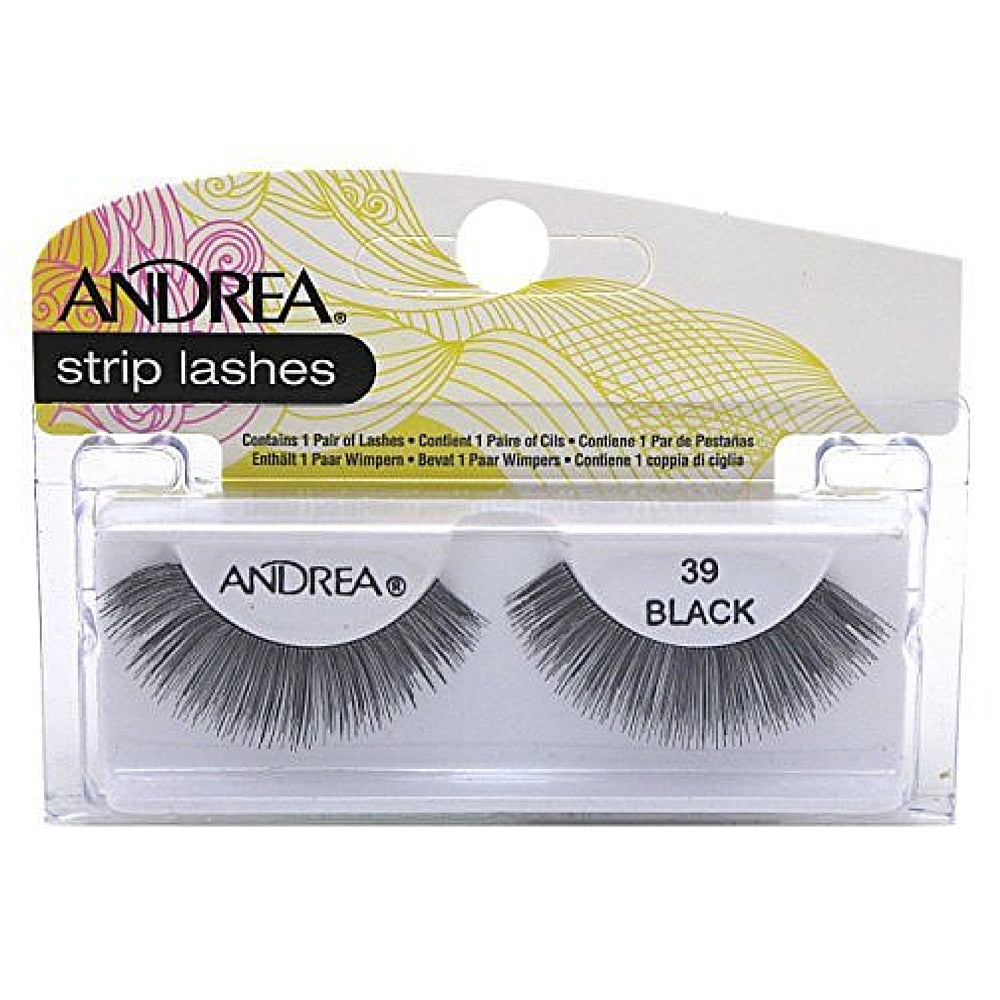 Andrea Strip Lashes Style, Black [39] 1 ea