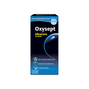 Oxysept UltraCare Formula Peroxide Disinfection System 12 oz